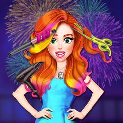 Jessienin Yeni Yıl Saçları