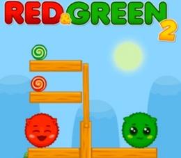 Kırmızı Yeşil Şeker Canavarları