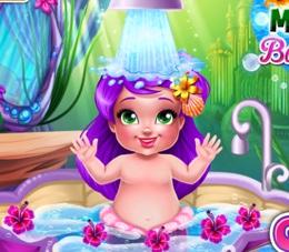 Küçük Deniz Kızının Banyosu