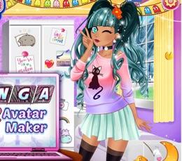 Manga Avatar Kız Karakter Tasarımcısı