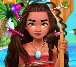 Moana'nın İnatçı Saçları