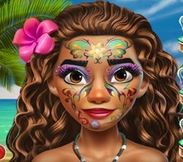 Moana'nın Yüz Makyajı