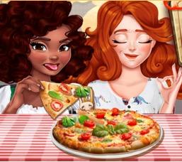 Noelle ve Jessie İle Pizza Challenge