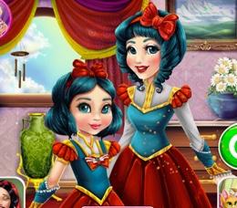 Pamuk Prenses Ve Kızının Bakım Günü