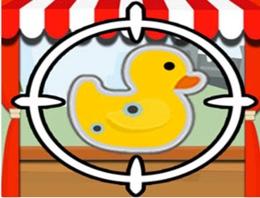 Plastik Ördeklere Nişan Al