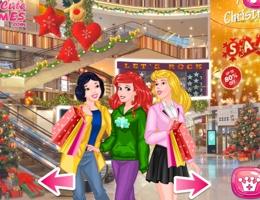 Prensesler Alışveriş Merkezinde