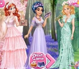 Prensesler Baharın Renkleri