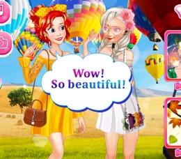 Prensesler Balon Festivalinde
