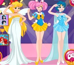Prensesler Cadılar Bayramı Cosplay