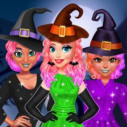 Prensesler Cadılar Bayramında