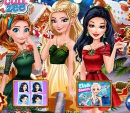 Prensesler Christmasland'de