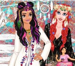Prensesler Coachella Festivalinde