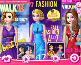 Prensesler Dergi Kapaklarında