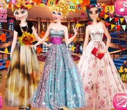 Prensesler Güz Partisinde