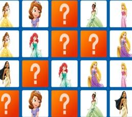 Prensesler Hafıza Kartları