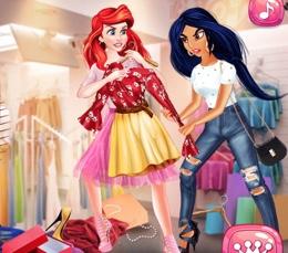 Prensesler İle Alışveriş
