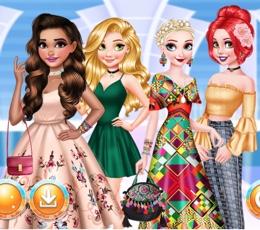 Prensesler İle Moda Geçidi