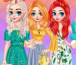 Prensesler İle Sıcak Yaz