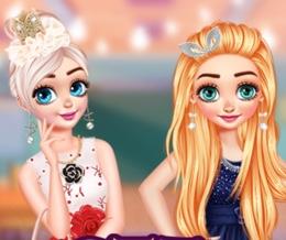 Prensesler Mezuniyet Balosunda