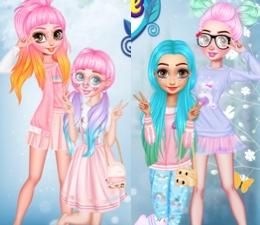 Prensesler Renkli Ve Tatlı