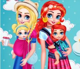 Prensesler Ve Bebekleri