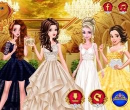 Prensesler Ve Görkemli Kostümleri