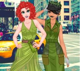 Prenseslerin Asker Modası