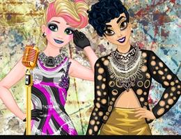 Prenseslerin Işıltılı Rock Stili