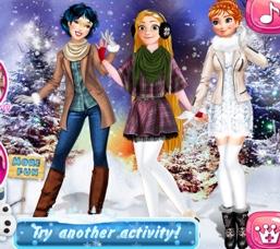 Prenseslerin Kış Aktiviteleri