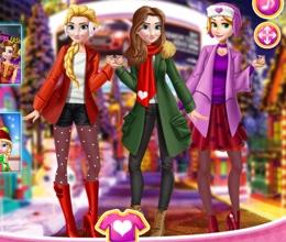 Prenseslerin Kış Keyfi
