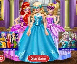 Prenseslerin Maskeli Balo Şıklığı
