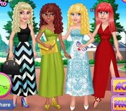 Prenseslerin Maxi Elbiseleri