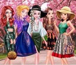 Prenseslerin Orman Desenleri Modası