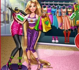 Rapunzel'in Alışveriş Çılgınlığı
