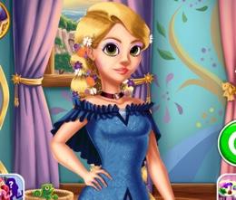 Rapunzel'in Saraylı Makyajı
