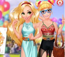 Rapunzel Ve Dostu Festivalde