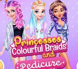 Renkli Prenseslerin Pedikürü