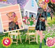 Barbie Çiçek Kız