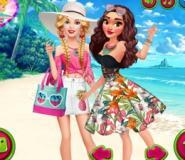 Barbie Moana'yı Ziyaret Ediyor