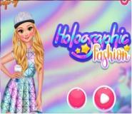 Barbienin Holografik Elbisesi