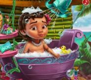 Bebek Moana'nın Banyo Günü
