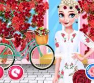 Çiçek Kız Elsa