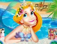 Deniz Kızı Rapunzelin Makyajı