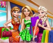 Disney Kızları Alışverişte