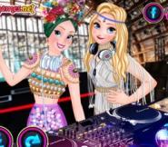 DJ Elsa Ve Anna