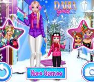 Elsa İle Kızı'nın Kış Keyfi