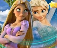 Elsa İle Yıldızları Bul