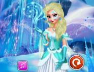 Elsa'nın Karlar Ülkesi Makyajı