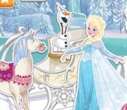 Elsa'nın Kızağını Tamir Et
