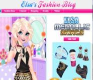 Elsa'nın Metalic Modası